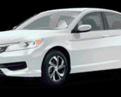 2016 Honda Accord LX Sedan I4 CVT