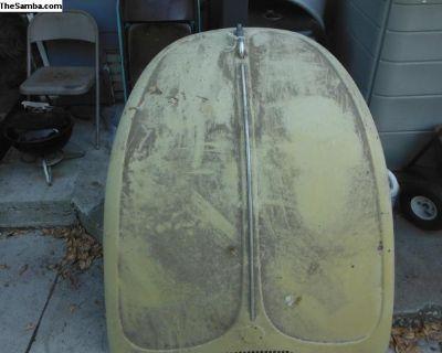 71-72 vw bug super beatle hood