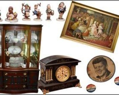 Atlanta (GA) Single Owner Sale: Artwork Vintage Furniture D cor China and More