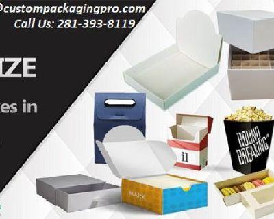 Custom Cardboard Packaging Boxes Wholesale