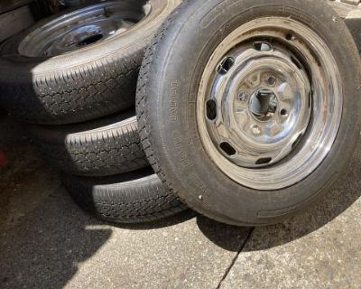 Wheels For Classic VW (Set of 4) -$75.00