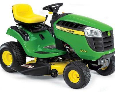 2012 John Deere D110 Garden Tractors Norfolk, VA