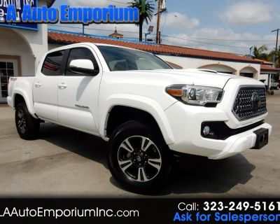 Used 2018 Toyota Tacoma TRD Sport Double Cab 5' Bed V6 4x4 AT (Natl)