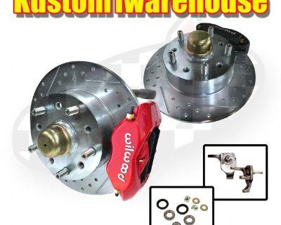Wilwood dropped spindle disc brake conversion kit