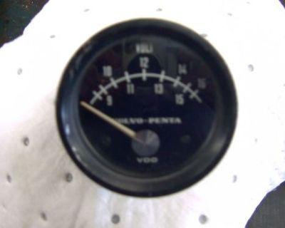 Volvo Penta Tmd Tamd Aqd Aqad 30 40 Volt Meter Gauge No Longer Made 837895