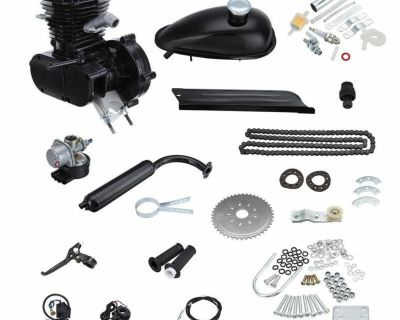 brand new full set Full Set 80cc Bike Bicycle Motorized 2 Stroke Petrol Gas Motor Engine Kit