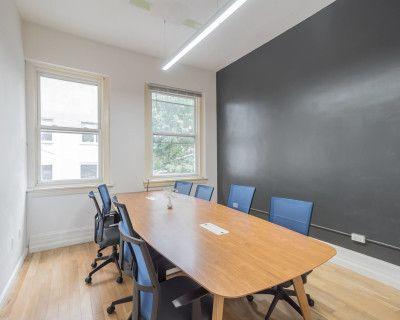 Bright Private Conference Room in Rittenhouse Square District - TV - Whiteboard, Philadelphia, PA