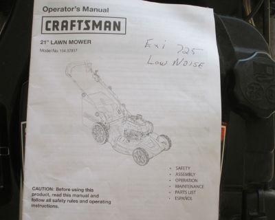 Craftsman 21 inch lawn mower