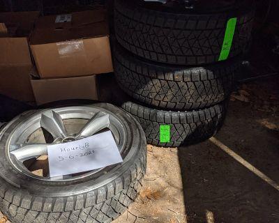 235/50R18 Blizzak DM-V2 on 18x8 Factory Wheels ($500)