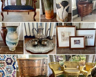 Pottery and Art Collectors Estate Auction