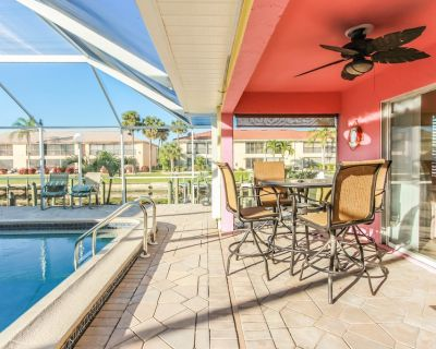 Amazing GULF ACCESS #D 2-bedroom w/ Heated pool and Boat Slip! - Caloosahatchee