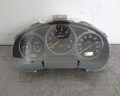 Jdm Subaru Wrx Sti 2002-2003 Version 7 Gauge Cluster Speedometer Gdb Ej20 #c11