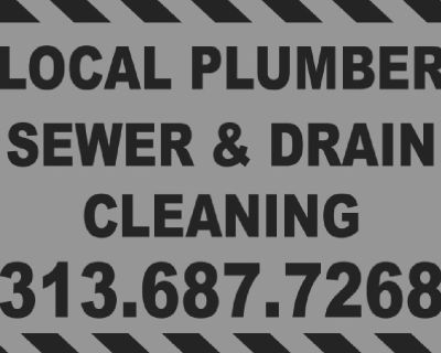 Sewer & Drain Cleaning Plumber