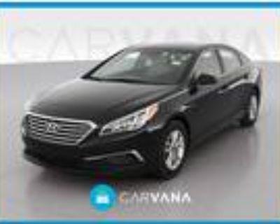 2016 Hyundai Sonata Black, 99K miles