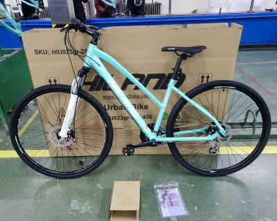 24-Speed 700c Hybrid Bike (Shimano Gear, Disc Brakes) - NEW