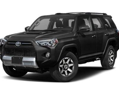 New 2021 Toyota 4Runner TRD Off Road Premium 4WD Sport Utility