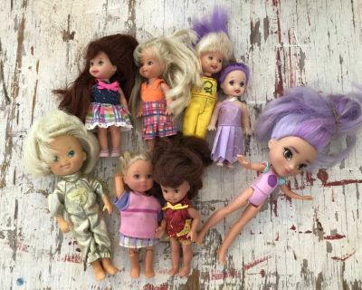 Collection of Small Dolls