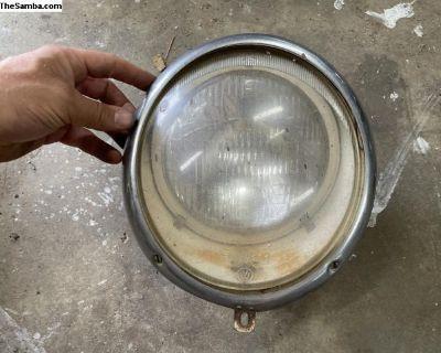 1950s Hella Early German Headlight E1.0671.01