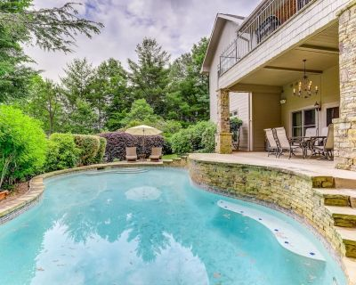 Stylish, Two-Story Home w/ a Private Pool, Free WiFi, Pool Table, & Central A/C - Helen
