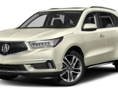 2017 Acura MDX Advance with Entertainment Package