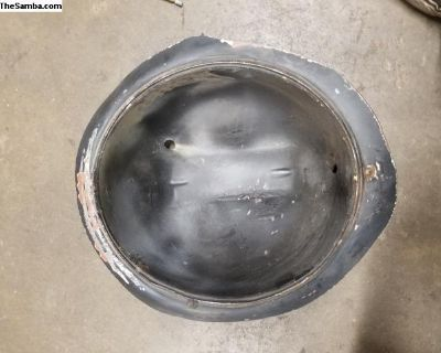 Oval-66 Bug headlight bucket solid