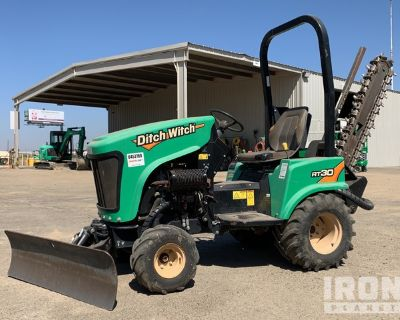 2015 Ditch Witch RT30 4x4 Trencher