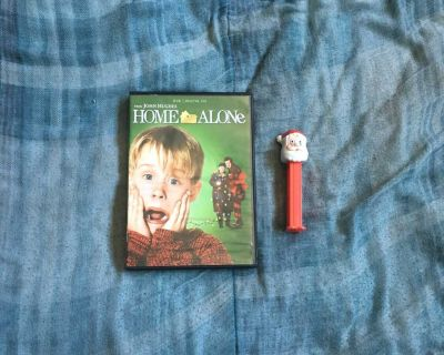 Lot Of Home Alone DVD And PEZ