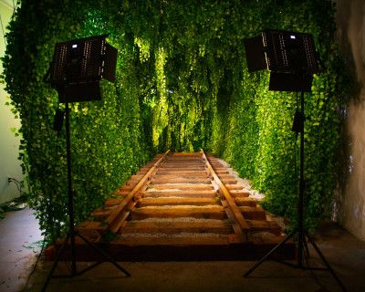 Downtown Green Vine Railroad Tunnel, Los Angeles, CA