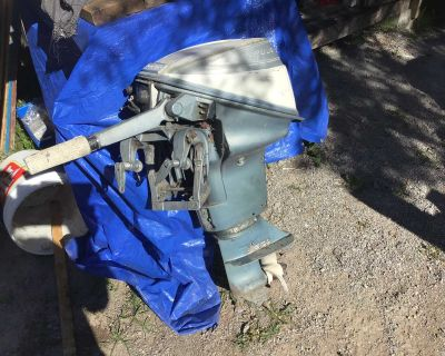 9.5 evinrude sport win outboard motor Bobcaygeon