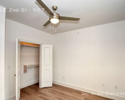 Tile and wood floors with private balconies.apartments in East Cesar Chavez ..