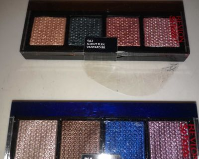 Absolutely gorgeous shades of super shiny and gorgeous eyeshadow palettes