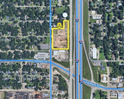 REDUCED!!! - 4.8 Acres Vacant Land with Excellent I-49 Visibility