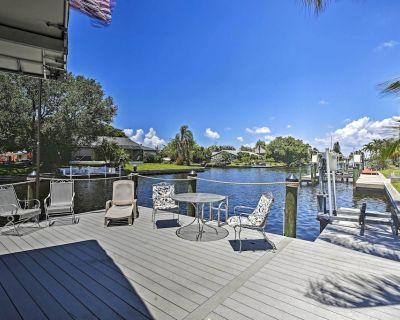 NEW! Riverfront Cape Coral Property w/ Boat Dock! - Caloosahatchee