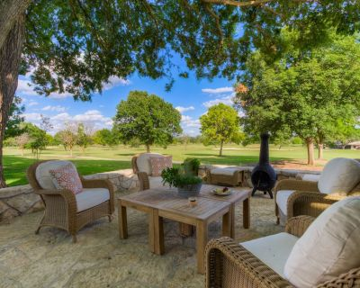 Beautiful Hill Country House On 18th Fairway - Kerrville