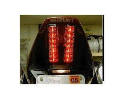 Suzuki 03-09 Sv650/1000 Integrated Taillight Clear
