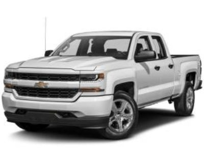 2017 Chevrolet Silverado 1500 Custom Double Cab Standard Box 2WD