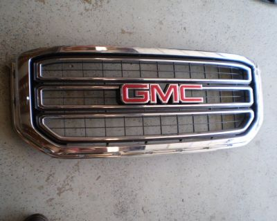 GMC YUKON GRILL GRILLE FRONT 2015 2016 2017 CHROME 84119634 OEM GM