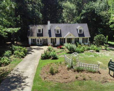 4BR Professionally landscaped Garden Walk in GA - Flowery Branch