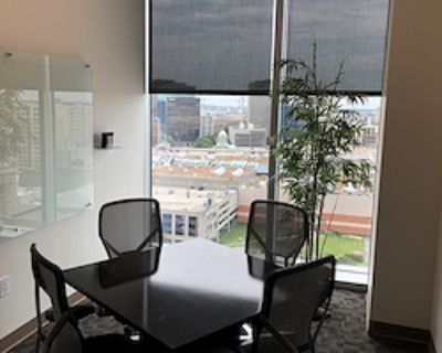 Private Meeting Room for 4 at Office Space & Solutions Norfolk