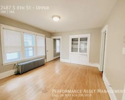 2487 S 6th St #UPPER, Milwaukee, WI 53215 2 Bedroom Apartment