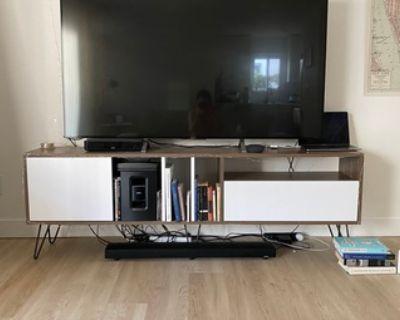 Mid-century modern media console/TV stand