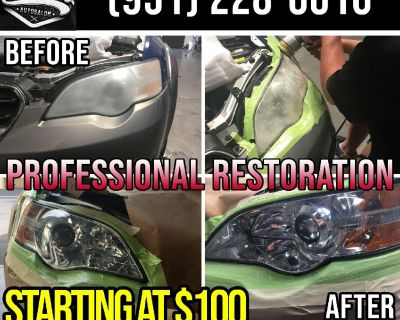 Headlight Restoration Done By Pros The RIGHT Way!