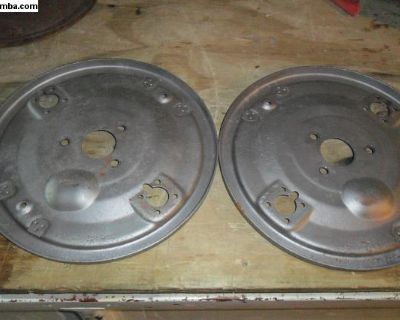 356A front backing plates L&R