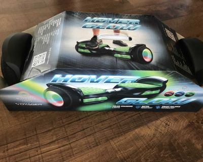 Unboxed/ brand new- Voyage glow hoverboard