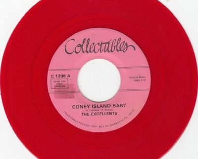 EXCELLENTS ~ Coney Island Baby*RARE RED WAX*M-45 !