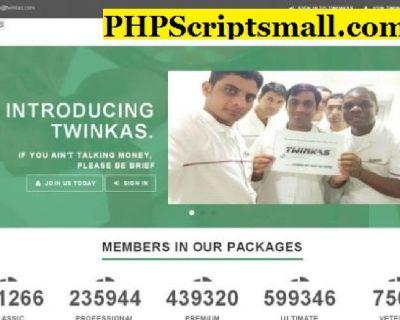 Twinkas Clone - Twinkas Script - MMM Clone - MMM Script - Matrix Ponzi Script