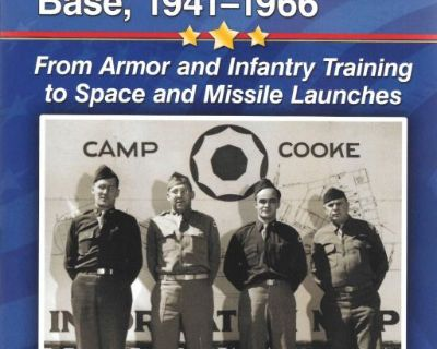 New Book - CAMP COOKE AND VANDENBERG AIR FORCE BASE