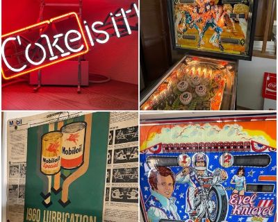 """Ace Of Estates """"OH WOW!"""" Amazing Coca Cola, Pinball Machines & Automotive Collectibles! Online Sale!"""