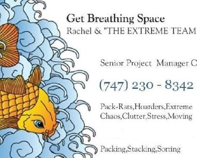 Discreet Professional Organizing & Packing Services `Extreme Chaos Specialists