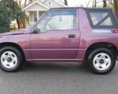 1996 GEO TRACKER SOFT TOP SOFT TOP CONVERTIBLE SUV 16200